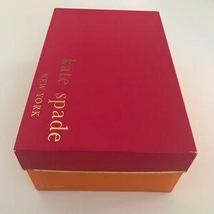 Kate Spade shoe box